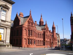 an image of the Magistrates Court building in Birmingham