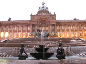 an image of Victoria Square in Birmingham