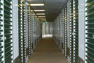 an image of the storage units at the Arden Self Storage facility in Solihull
