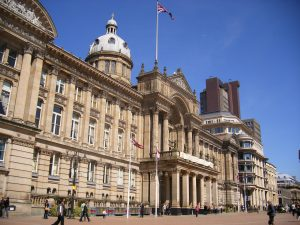 an image of the council building in Birmingham