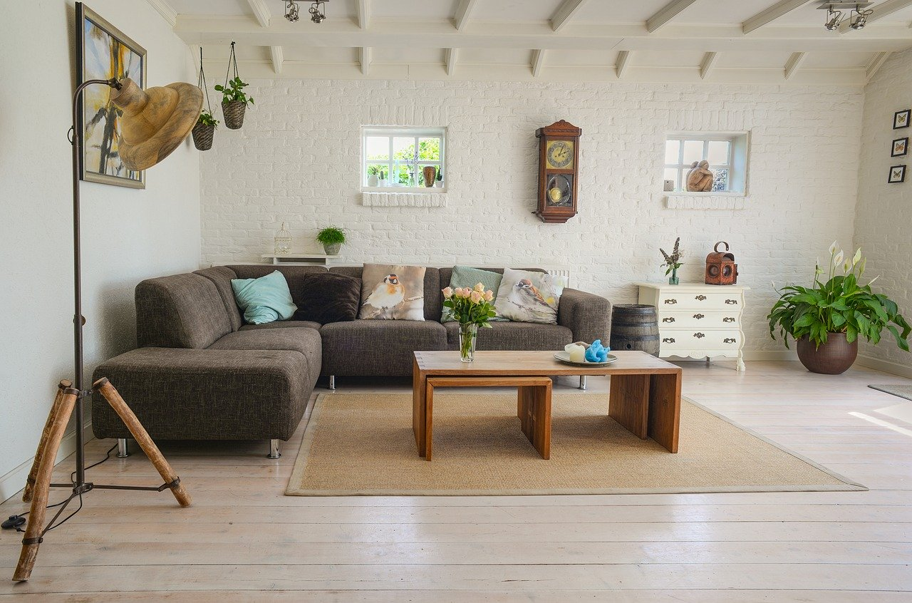 image of a living room with furniture inside
